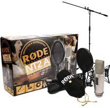 Rode NT2-A Lot Condensateur Microphone + Pied de Micro