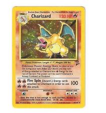 Charizard 4/130 Base Set 2 II Ultra Rare Star Holo Foil Pokemon Card