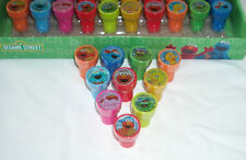 10 pieces Sesame Street Elmo Self Inking Stamper Pencil Topper Party Favor Loot