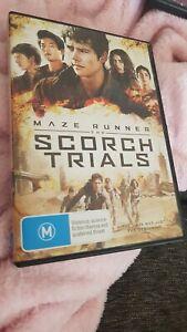 The Maze Runner - Scorch Trials (DVD, 2015) Ex-Rental