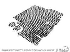 1971-1973 Ford Shelby GT MUSTANG TRUNK MAT - PLAID - FASTBACK ONLY!!