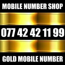GOLD DIAMOND PLATINUM VIP BUSINESS MOBILE PHONE NUMBER SIM CARD
