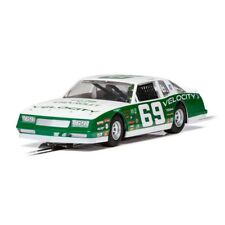 NEW Scalextric 1986 Chevrolet Monte Carlo 'VELOCITY' Green/White 1/32 Slot Car