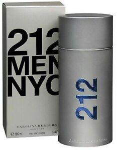 Carolina Herrera 212 Men NYC Eau de Toilette 100ml Qualitätsgarantie