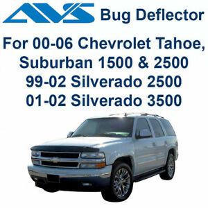 AVS Bugflector II Smoke Hood Protector Shield For Chevy Tahoe - 25902 2000-2006