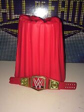 WWE MATTEL ELITE 47 RAW UNIVERSAL CHAMPIONSHIP & STAND RED BELT IN STOCK