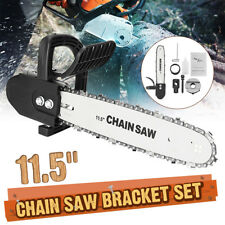 Drillpro 11.5 Inch Chainsaw Bracket Angle Grinder Into Chain Saw Woodworking