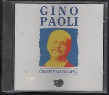 GINO PAOLI C'ERA UNA VOLTA UNA GATTA.. CD F.C. SIGILLATO!!!