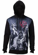 Assassins Creed - Live By The Creed Core - Mens Full Zipped Hoodie - L