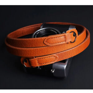 High Quality Real Leather Camera strap Neck Straps for film EVIL Camera Sony new
