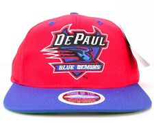 DePAUL UNIVERSITY BLUE DEMONS SNAPBACK CAP / HAT, NWT