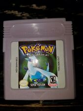 POKEMON SILVER VERSION NINTENDO GAMEBOY COLOR VIDEO GAME  CARTRIDGE with case