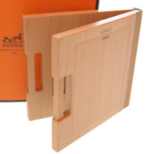 AUTHENTIC HERMES Wood Photo stand Photo frame 0058