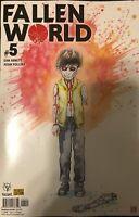 Fallen World #5 David Mack Pre-order Variant Valiant Comic 1st Print 2019 NM