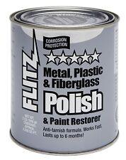 Flitz CA-03518-6 Metal, Plastic & Fiberglass Polish & Paint Restorer Paste, 2 Lb