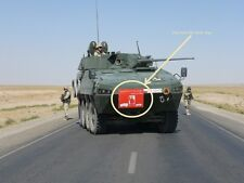 KANDAHAR​ WHACKER© ISAF NATO WAR TROPHY PATCH: Stay Back 100 Meter - Polish Army