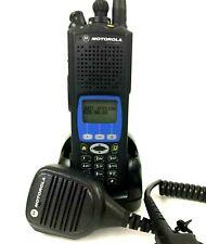 Motorola XTS5000 Model III P25 Police Fire Digital Radio 700 800Mhz H18UCH9PW7AN