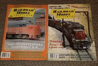 Lot of 2 VINTAGE Railroad Model Craftsman Magazine JANUARY 1988 & FEBRUARY 1990