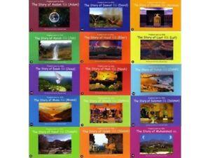 PROPHETS SENT BY ALLAH 15 VOLUMES KIDS MUSLIM CHILDREN ISLAMIC BOOKS