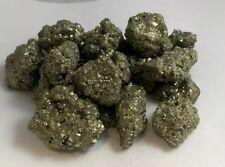 Gorgeous chispa iron pyrite 1/2lb lot, Peru, read description. Fools gold! Aaa
