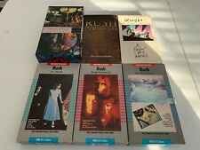 Rush Band Vhs Collection (Geddy Lee, Alex Lifeson, Neil Peart)