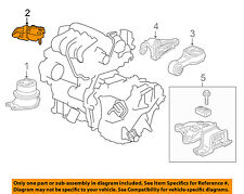 HONDA OEM 15-17 Fit Engine-Front mount bracket 50620T7A003