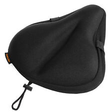 Silicone Gel Soft Bike Seat Cover Padded Cushion Cycle Mountain Cruiser Bicycle