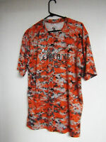 Badger Mens LARGE Digital Camo T-Shirt Camouflage Dry wicking Shirts POLYESTER