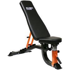 Mirafit Heavy Duty Adjustable FID Weight Bench Flat/Incline/Decline Gym/Dumbbell