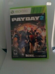 Payday 2 Xbox 360 Replacement Case Only