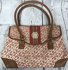 Tommy Hilfiger Orange And Tan Women's Handbag Purse NWOT