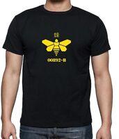 Walter White Barrel Bee Breaking Bad Inspired 00892-B Mens Fan Art T Shirts