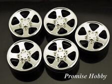 5S alloy beadlock wheel rim for 1/10 1.9 Land Rover D90 Wrangler rc crawler 5PC