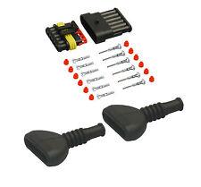 Amp Superseal maschio set 6 pin 1,50-2,50 con becchi CAMION AUTO BARCA sensore
