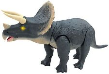 Mighty Megasaur Battery Operated  Triceratops Dinosaur Sounds Lights Realistic
