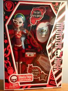 MONSTER HIGH 2010 - GHOULIA YELPS - FIRST WAVE - VERY RARE