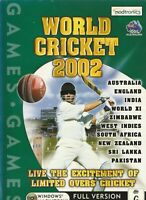 Pc Game - World Cricket 2002