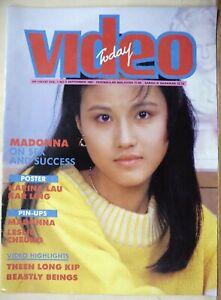 1987 SEP Malaysia Hong Kong Magazine【VIDEO TODAY】封面:周海媚
