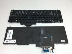 Dell Precision 3510 7710 Latitude 5570  NORDIC Backlit Laptop Keyboard 0MFKWK