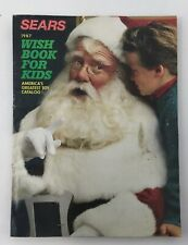 VINTAGE 1987 SEARS WISH BOOK FOR KIDS CHRISTMAS TOY CATALOG!