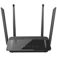 D-Link Wireless AC1200 4 Port Dual Band Gigabit Router W/ 4 Antennas - DIR-842