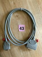 Lindy 3M RS232Serial DB9 Female to DB25 Male Converter Adapter Cable