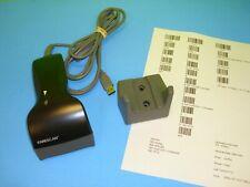 KANESCAN BarCode UPC Scanner Plug & Play USB Programmable Laser & Holder-Mount