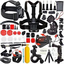 28-in-1 Accessories Kit Essential GoPro Hero 5/4/3/2/1 Session Hero Bundle Black