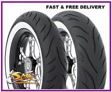 MT90HB16 (130/90-16) AVON COBRA AV72 White Wall Rear Motorcycle Tyre