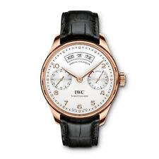 New IWC Portugieser Annual Calendar 18K Rose Gold Automatic Watch IW503504