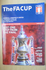 2003 FA Cup Semi Final-  ARSENAL v SHEFFIELD UNITED, 13th April