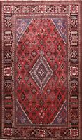 Vintage Tribal Geometric Hand-knotted Area Rug Traditional Oriental Carpet 7x10