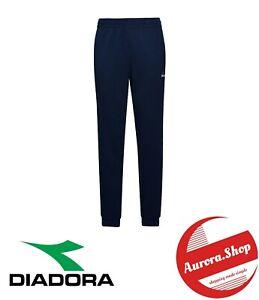 pantalone tuta UOMO sportivo DIADORA blu corsar sport running allenamento estivo