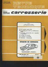 (32B) REVUE TECHNIQUE AUTOMOBILE SERVICE CARROSSERIE VOLKSWAGEN PASSAT